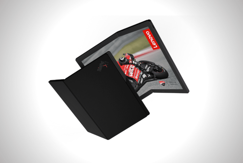 Lenovo ThinkPad X1 Foldable Laptop Concept