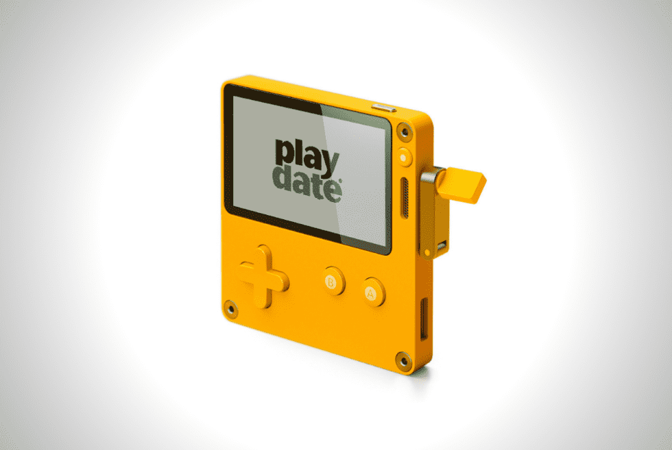 Get Cranking With The Panic Playdate Handheld Game System