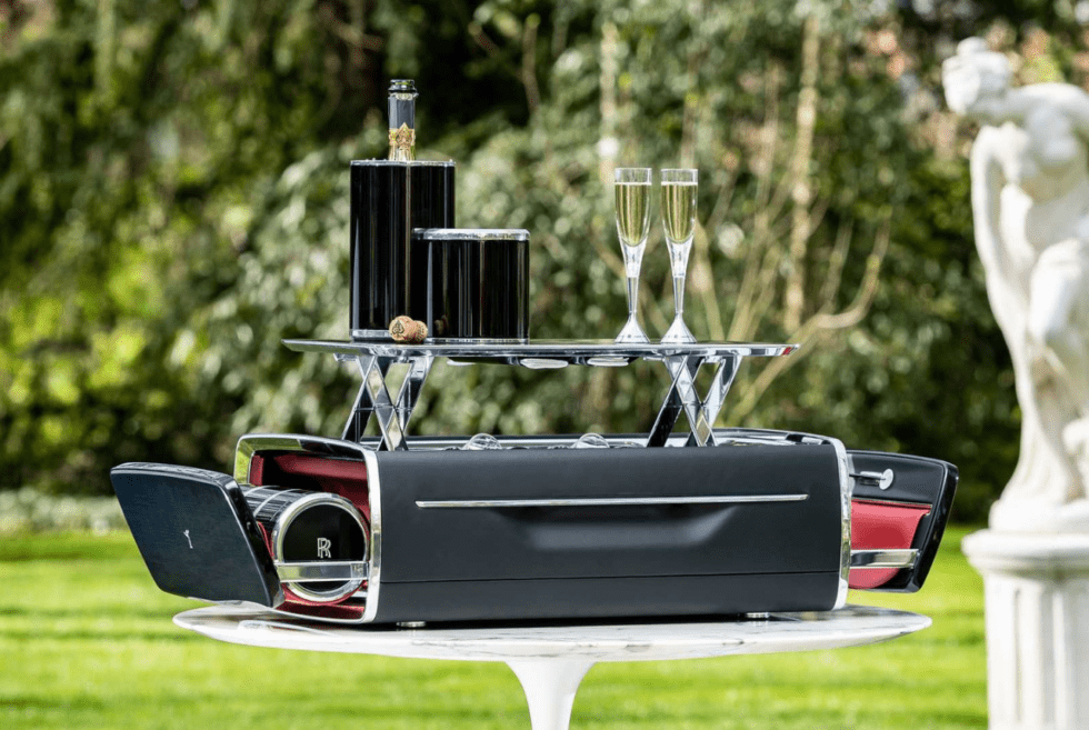 Serve Bubbly Like A Boss With The Rolls-Royce Champagne Chest