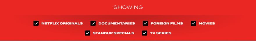 Netflix Gear Console