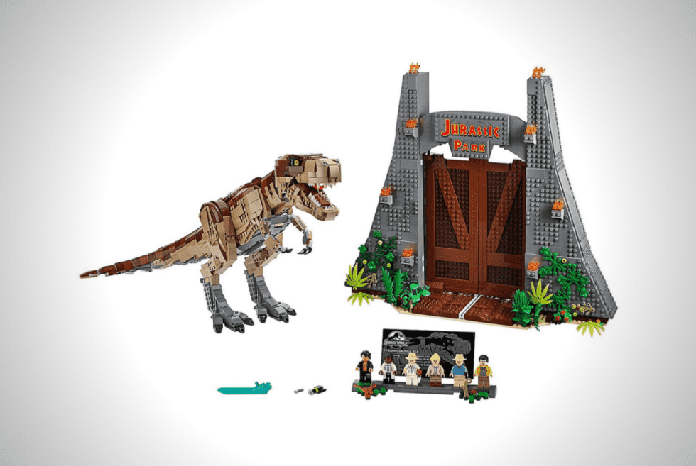 LEGO Jurassic Park T-Rex Rampage Playset