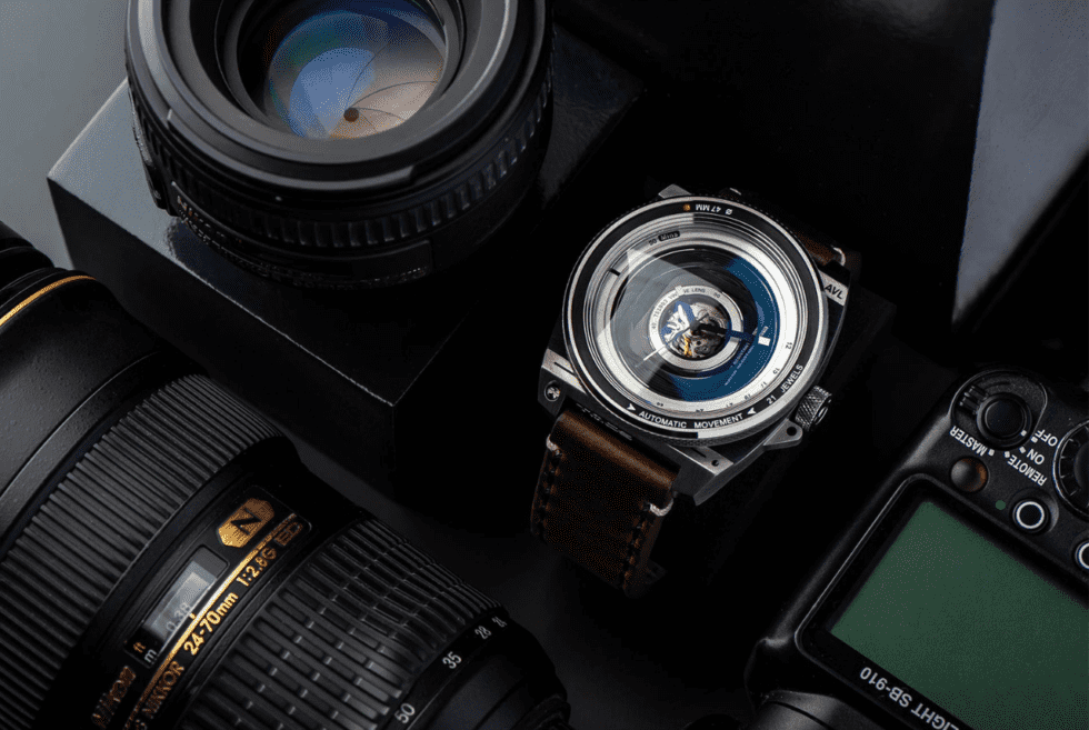 TACS Automatic Vintage Lens II Wristwatch