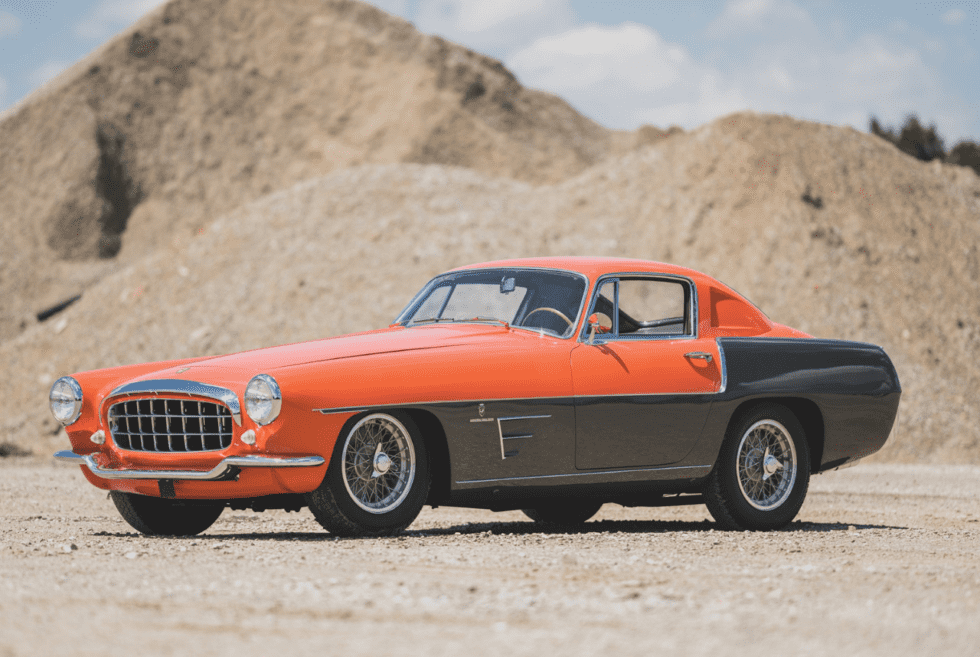 1955 Ferrari 375 MM Coupe Speciale By Ghia On Auction