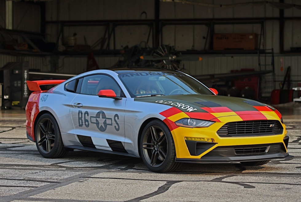 2019 Ford X ROUSH Performance Mustang GT Old Crow On Auction