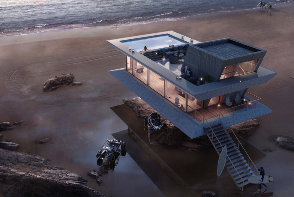 The Atelier Monolit Beach House Concept Is A Panoramic Coastal Paradise