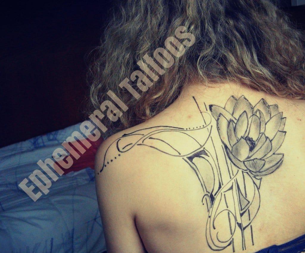 High Tech Tattoo Ink For Ephemeral Tattoos Men S Gear
