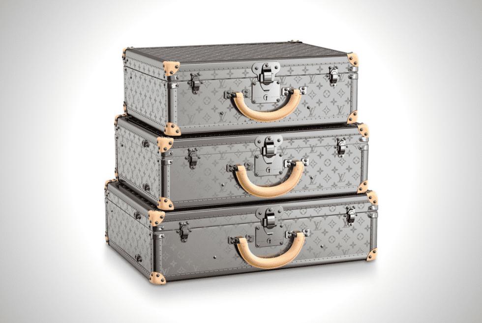 Louis Vuitton Bisten Monogram Titane Collection