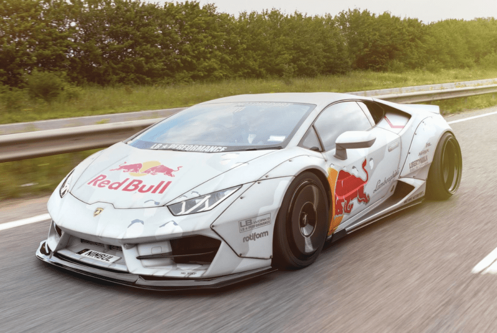Nimbul Custom Lamborghini Huracan By Red Bull