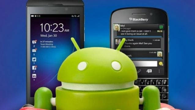 BlackBerry 10 Android Runtime Update: Fixes Android