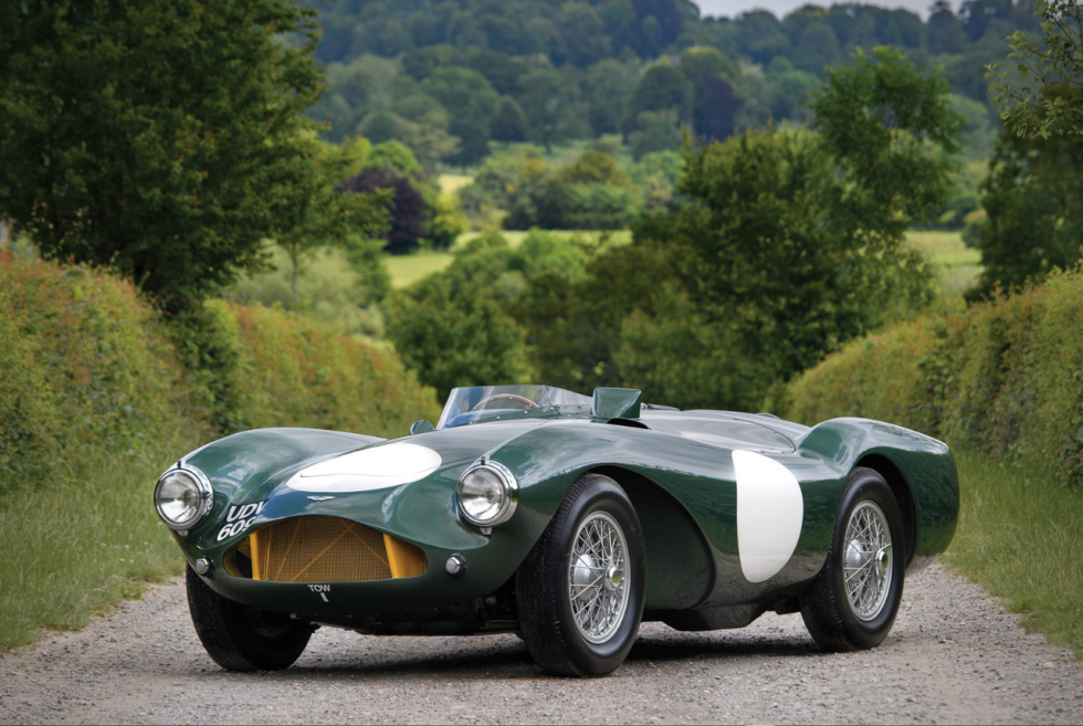 Aston Martin DB3S Up For Auction