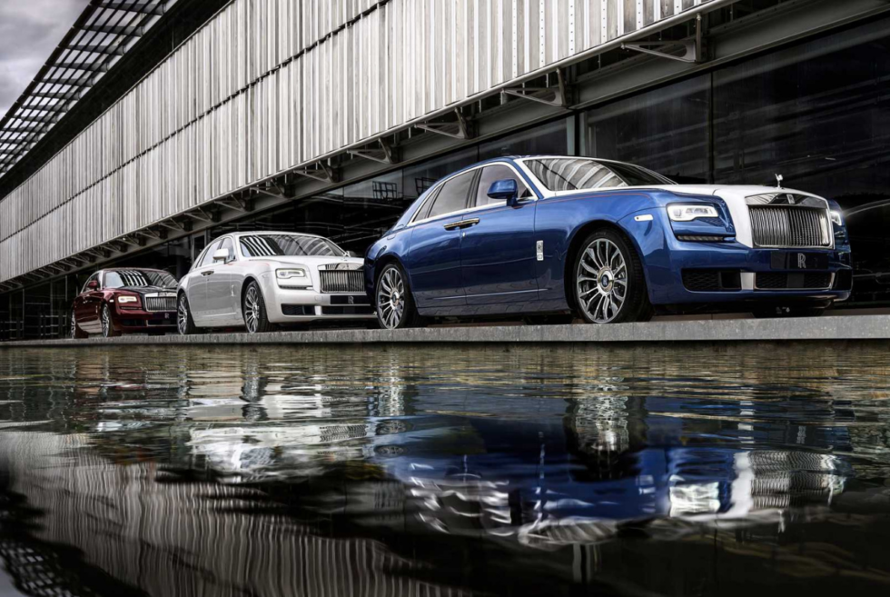 The Ghost Zenith Collection Is An Exquisite Tribute From Rolls-Royce