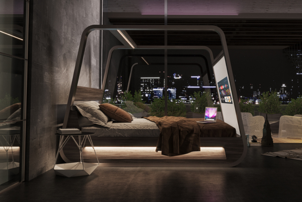 The Hi Interiors HiBed Will Make You Stay In Bed Longer