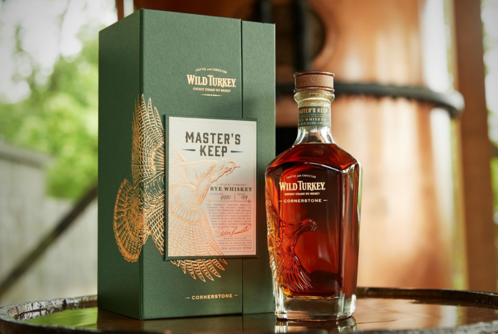 Wild Turkey Unleashes Master's Keep Cornerstone Rye Whiskey