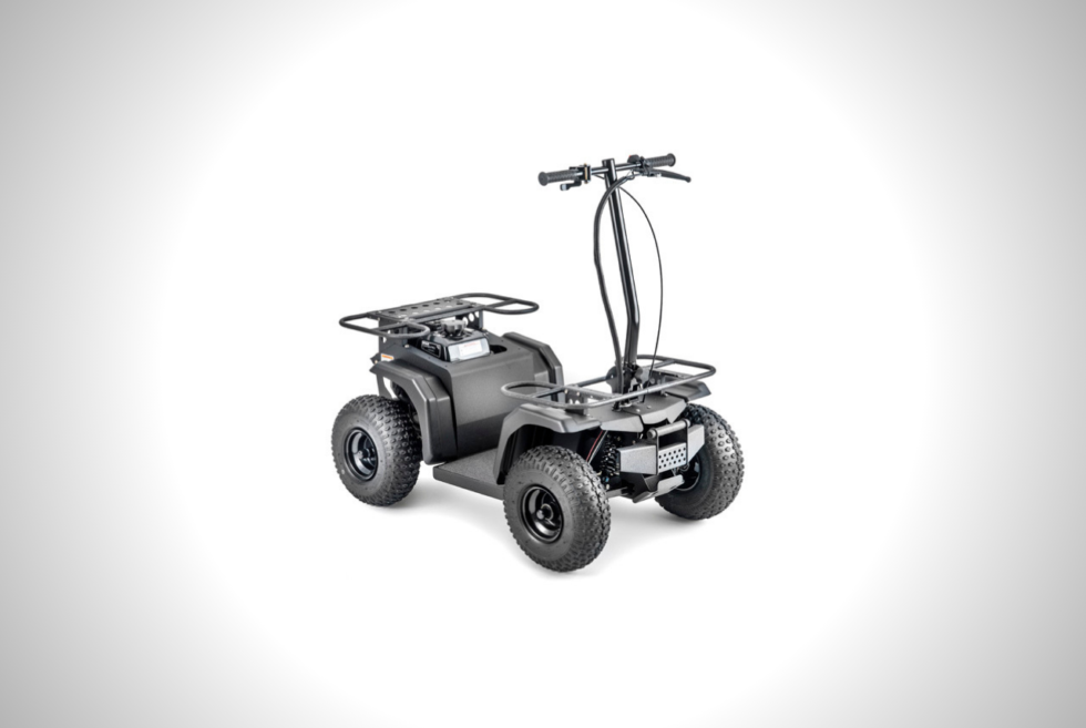 The Ripper ATV Is A Compact Heavy-Duty Off-Road Scooter