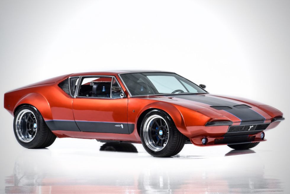 You Can Get This Used 1972 Detomaso Pantera