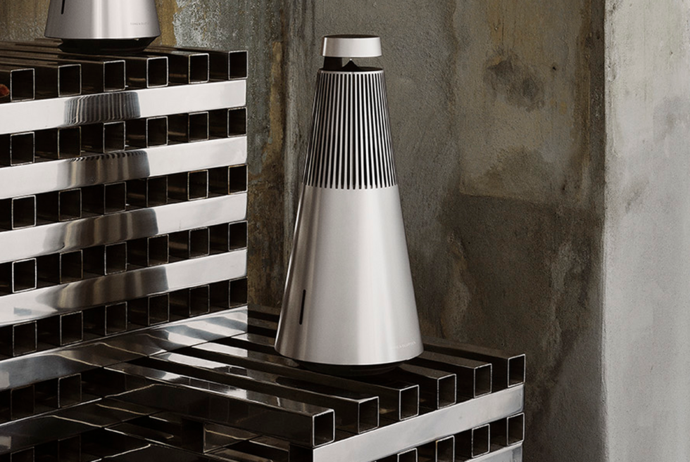 The Beosound 2 Is An Aluminum-Clad Premium Speaker From Bang & Olfusen