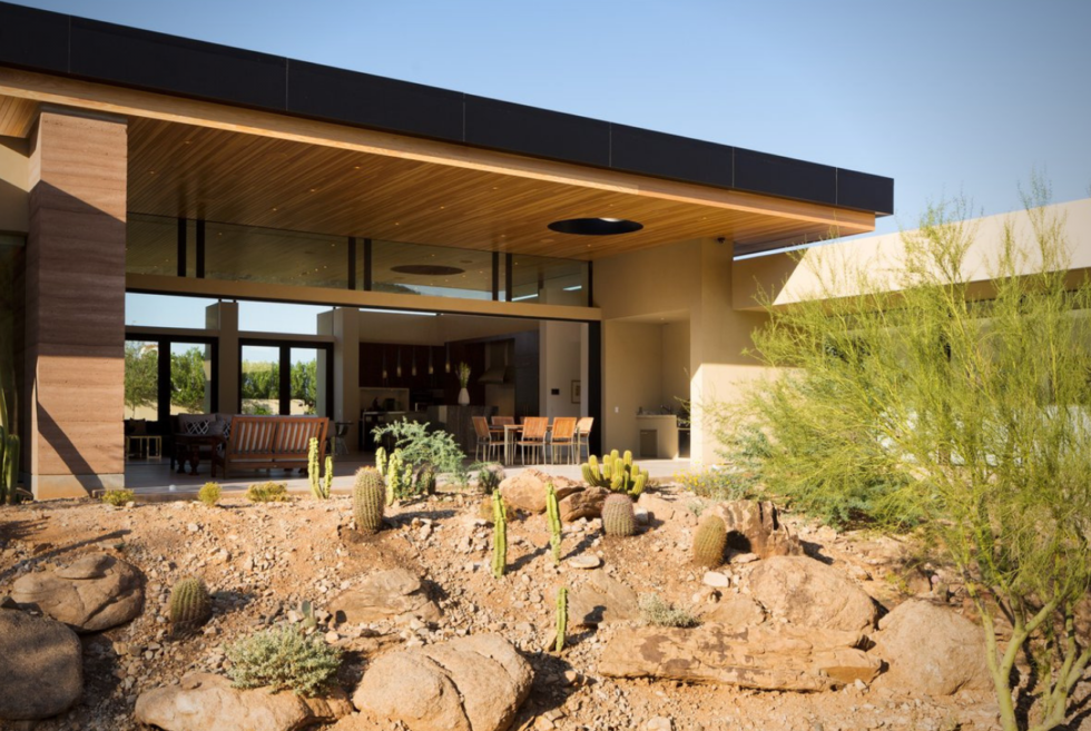 The Desert Wash Residence Is A True Oasis