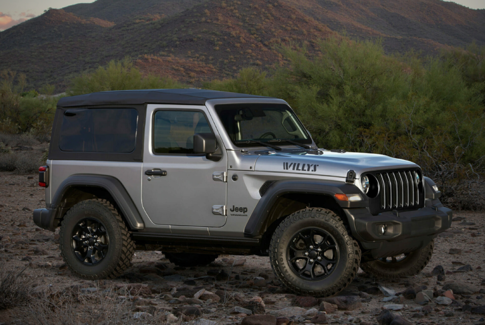 Jeep Wrangler Willys Make A Comeback In New 2020 Model