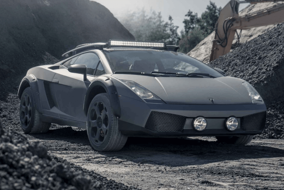 This Custom Off Road Lamborghini Gallardo E Gear Is For Sale Men S Gear