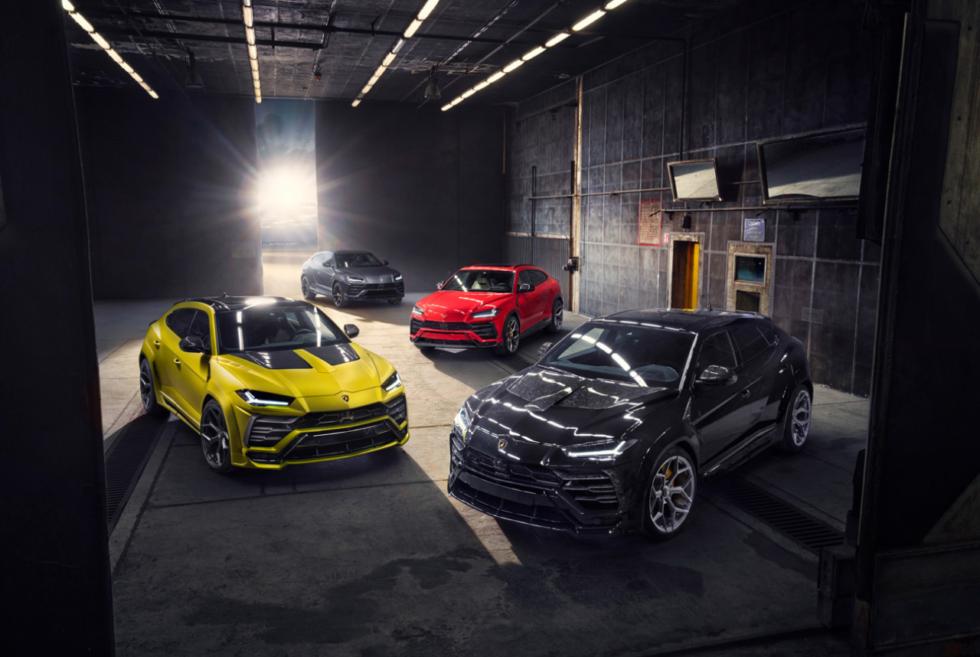 The 2020 Lamborghini Urus Gets The Novitec Treatment