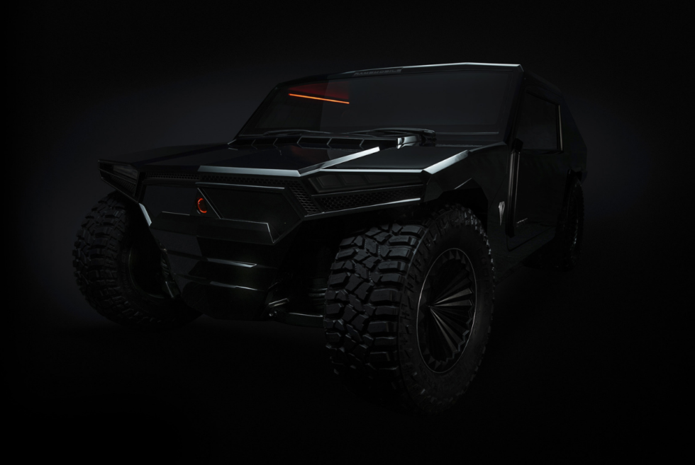 The RM-X2 From Ramsmobile Is A 999-Horsepower Bulletproof SUV