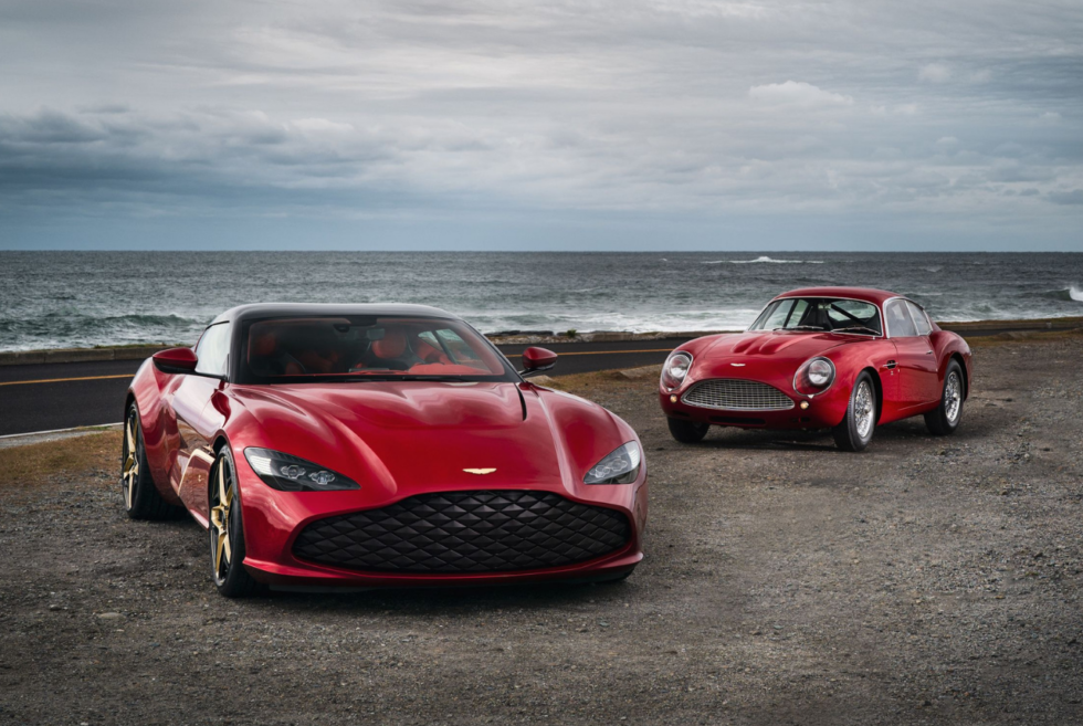 Aston Martin's 2020 DBS GT Zagato Takes Your Breath Away