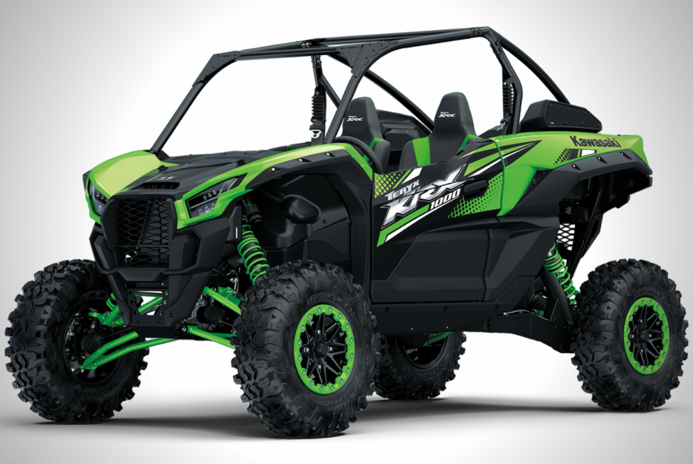 The 999cc 2020 TERYX KRX 1000 Is Kawasaki's First Side-By-Side