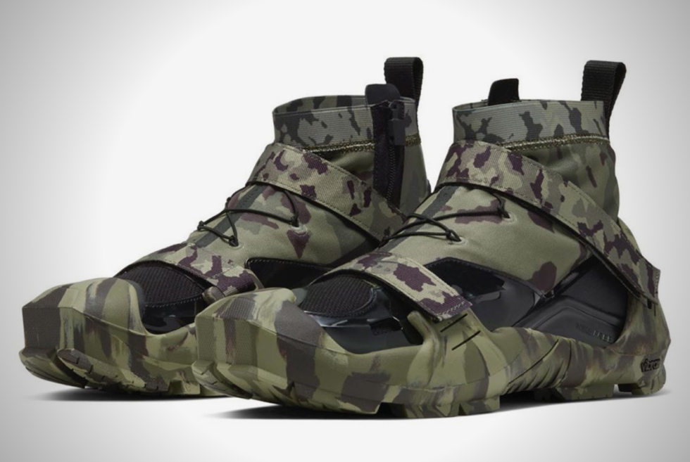Check Out These Limited Edition Nike x MMW Free TR 3 SP Camo Sneakers