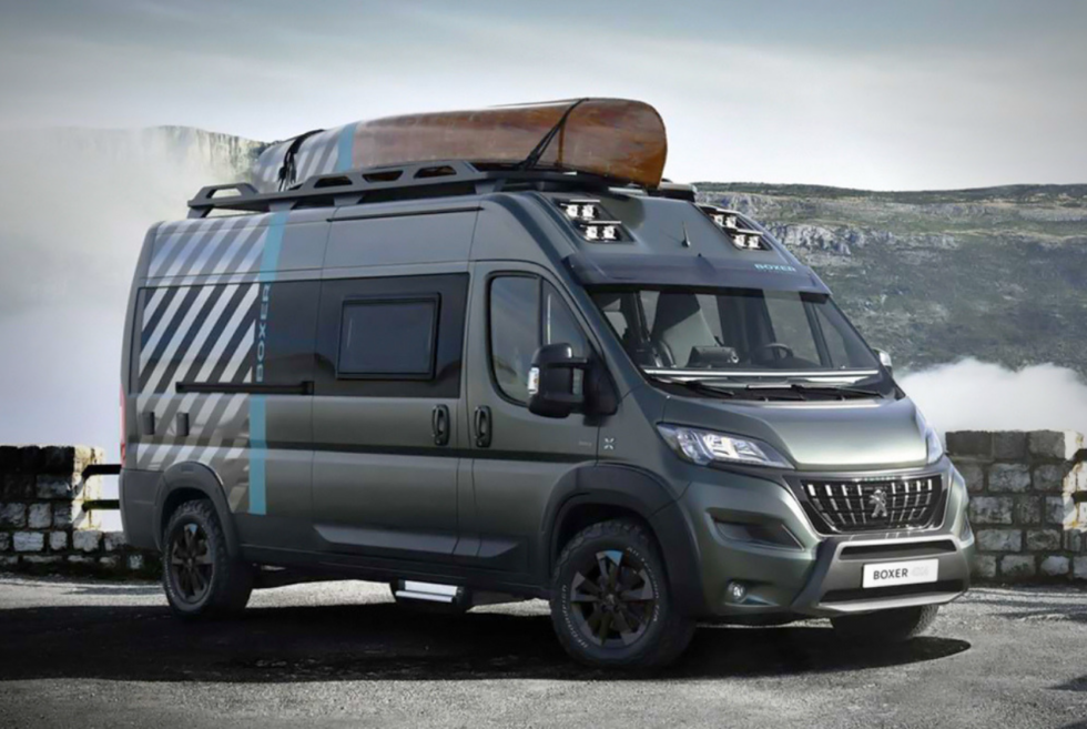 This Peugeot Boxer 4X4 Concept Is A Full-Fledged Van