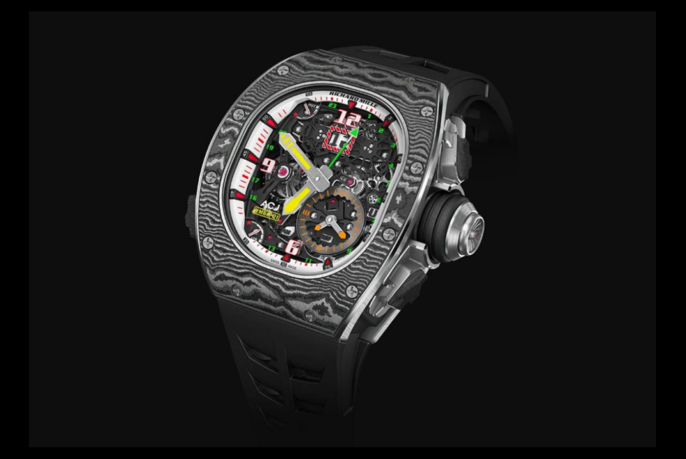 With Only 30 Examples Available, The Richard Mille RM 62-01 ACJ Is An Exclusive Timepiece