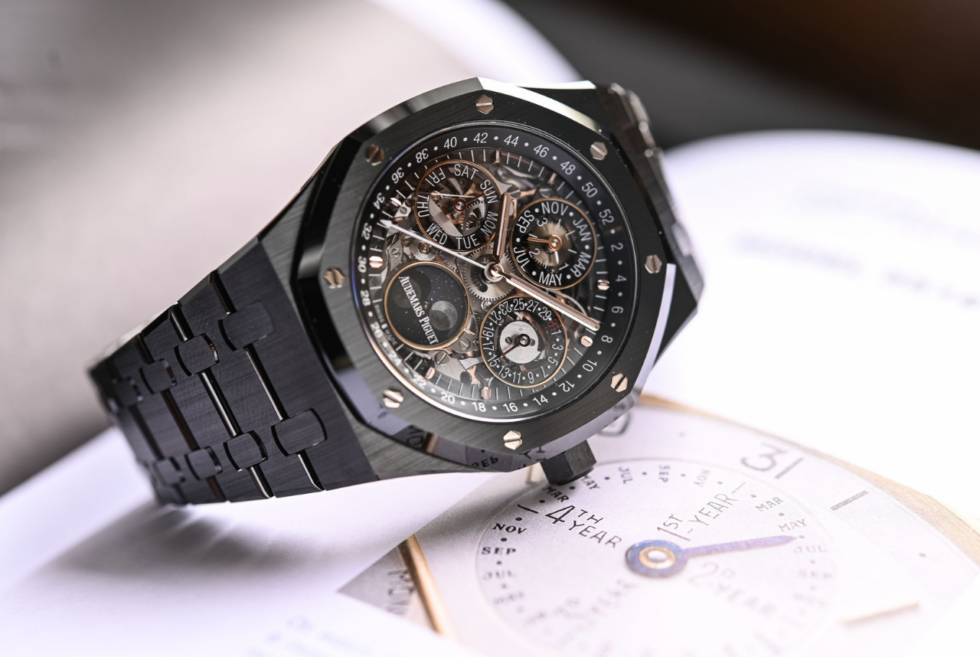Audemars Piguet Quietly Presents The Royal Oak Perpetual Calendar Openworked