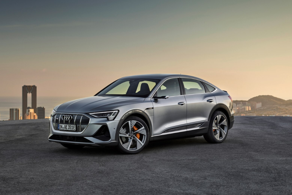 The E-Tron Sportback Is Audi's Sportier Take Of Its All-Electric SUV