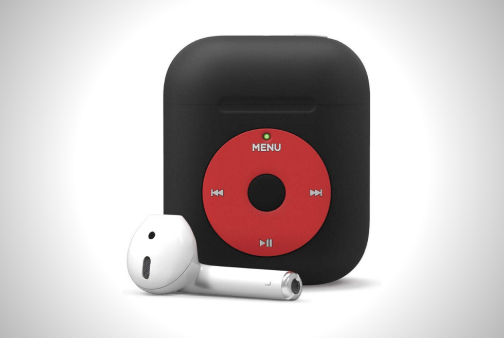 The Elago AW6 AirPods Case Is A Retro Tribute To An Iconic Portable Music Player