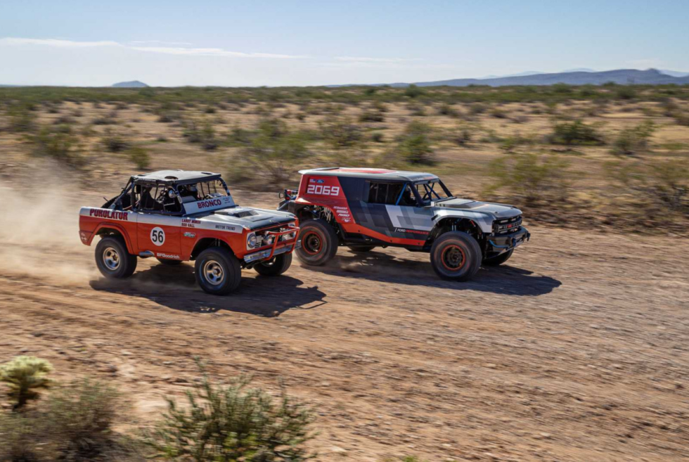 The 2019 Baja 1000 Will See The Ford Bronco R Prototype In Action