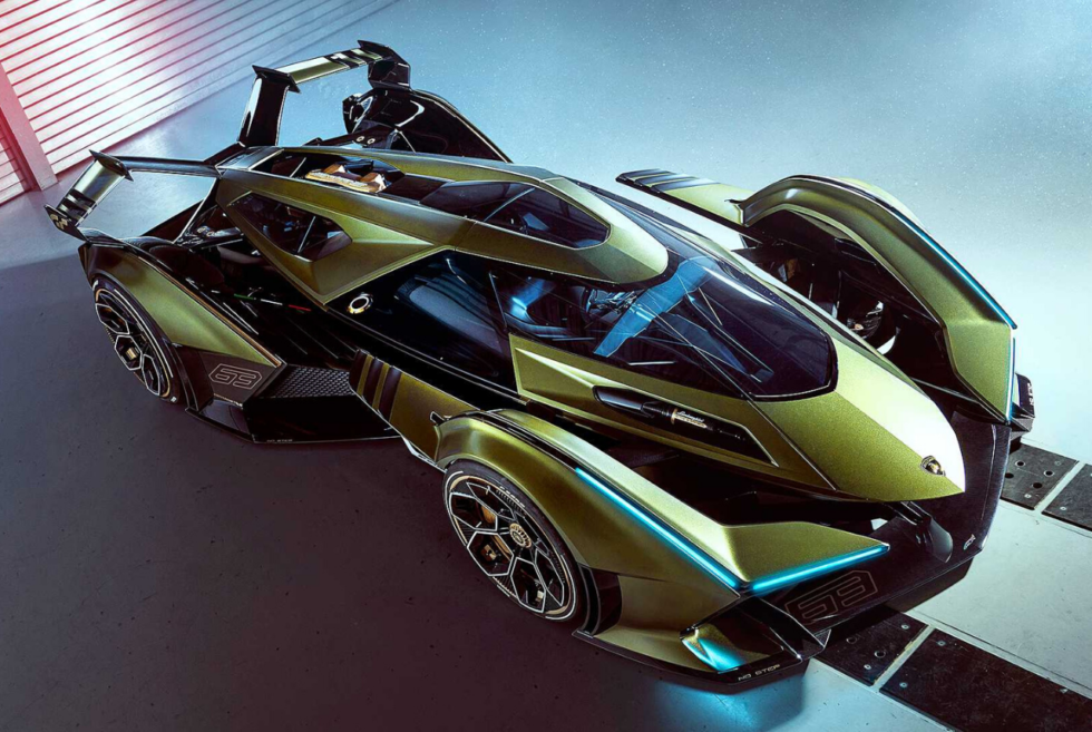 The Lamborghini Lambo V12 Vision Gran Turismo Is The Digital Hypercar Of Our Dreams