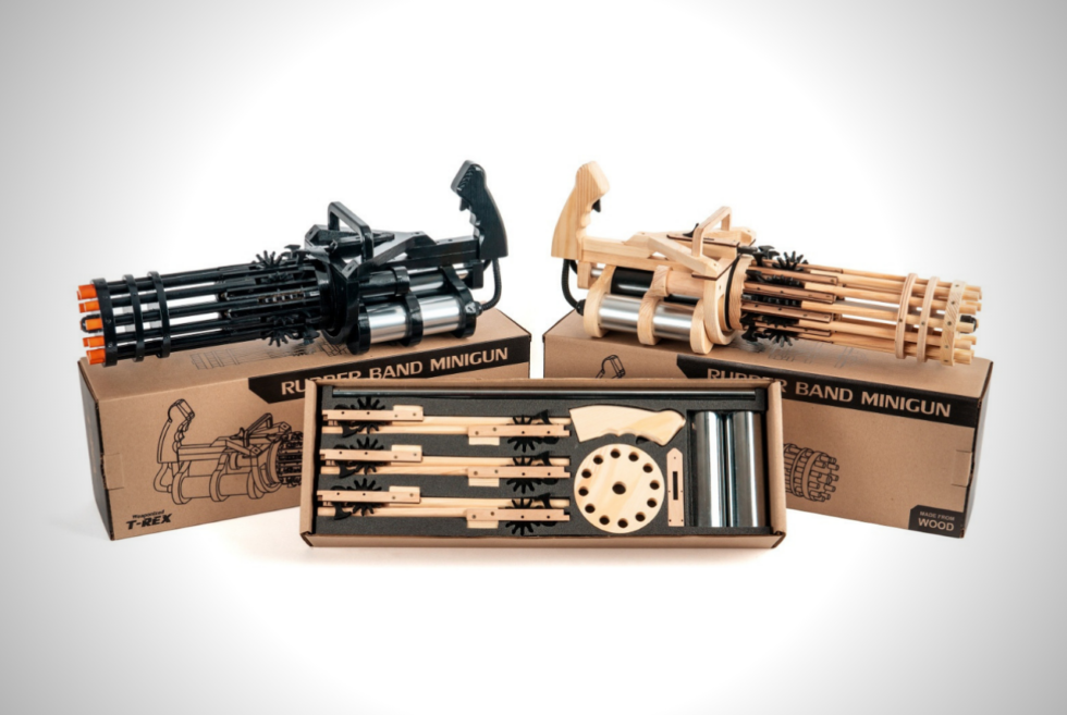 Strike Fear Into The Hearts Of Your Rivals With The Rubber Band Minigun