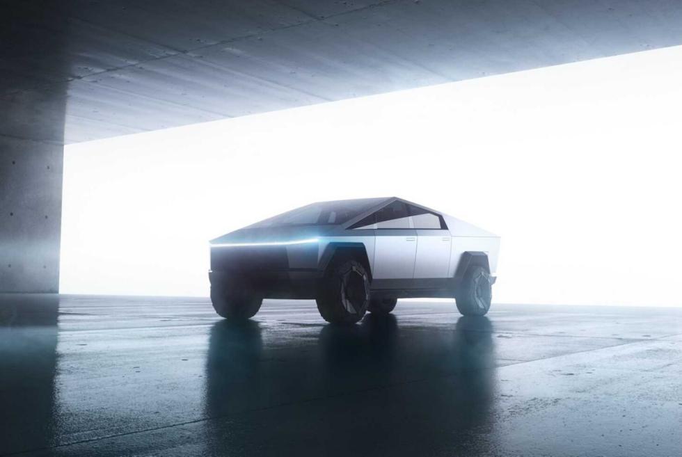 The Telsa Cybertruck Is An Emission-Free Utility Vehicle Built Like A Tank