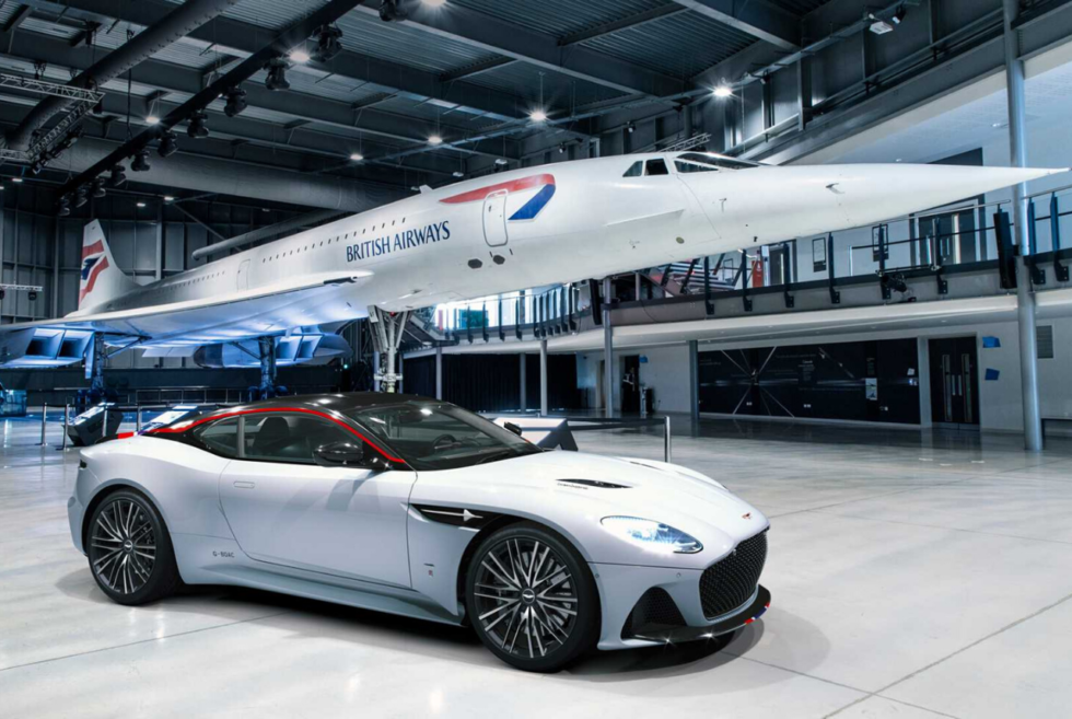 The Aston Martin DBS Superleggera Concorde Edition Is An Exciting Tribute To Supersonic Flight
