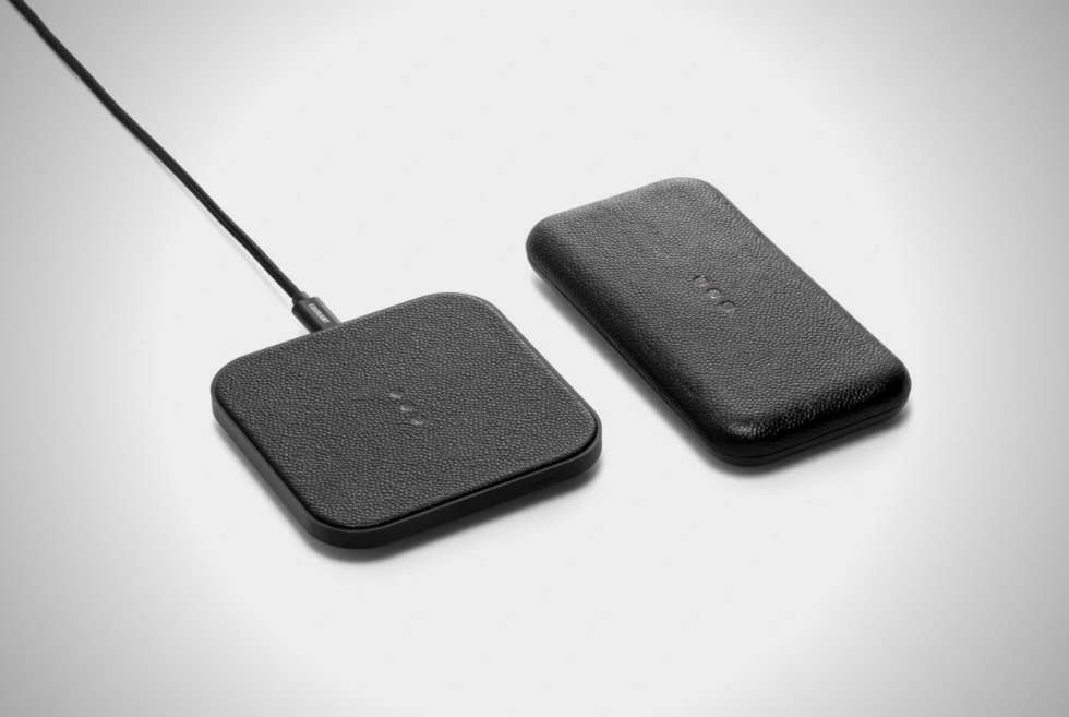 The Courant Carry Is A Premium Power Bank That Can Be Charged Wirelessly