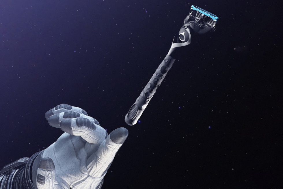 Gillette's Razor Maker Apollo Is A 3D-Printed Tribute To The First Lunar Landing