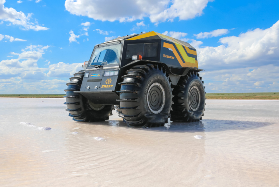 The Sherp ATV Might Look Funny But It's A Serious Outlanding Monster