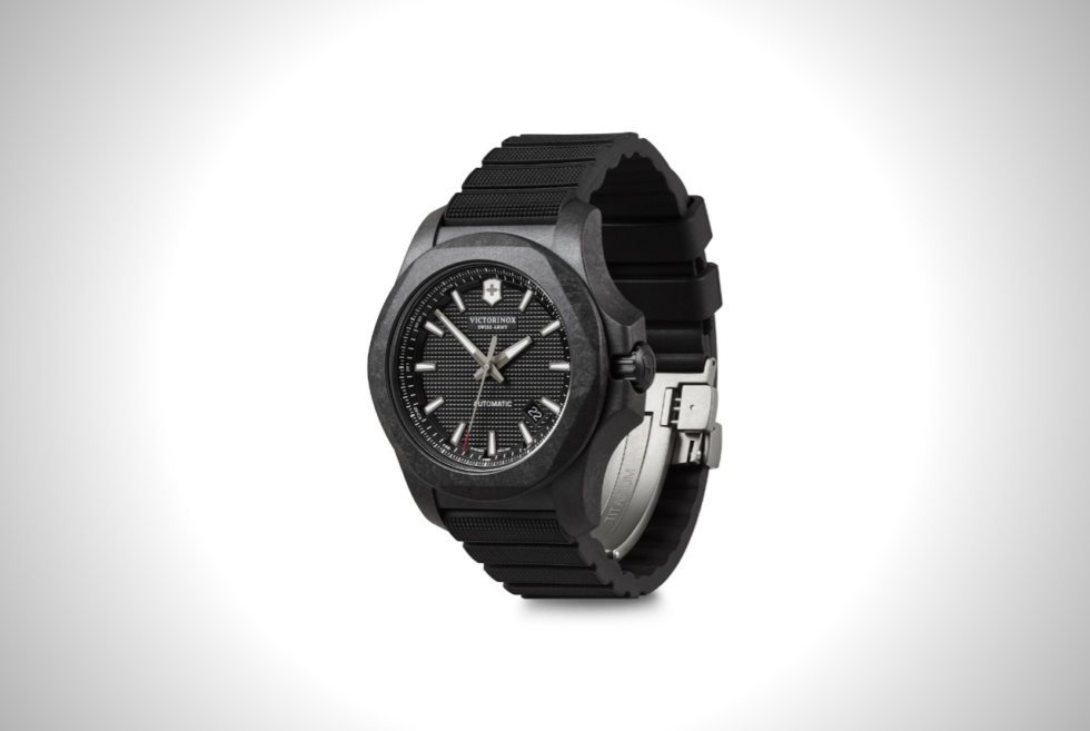 The Victorinox I.N.O.X. Carbon Mechanical Is An Edgy And Elegant Timepiece