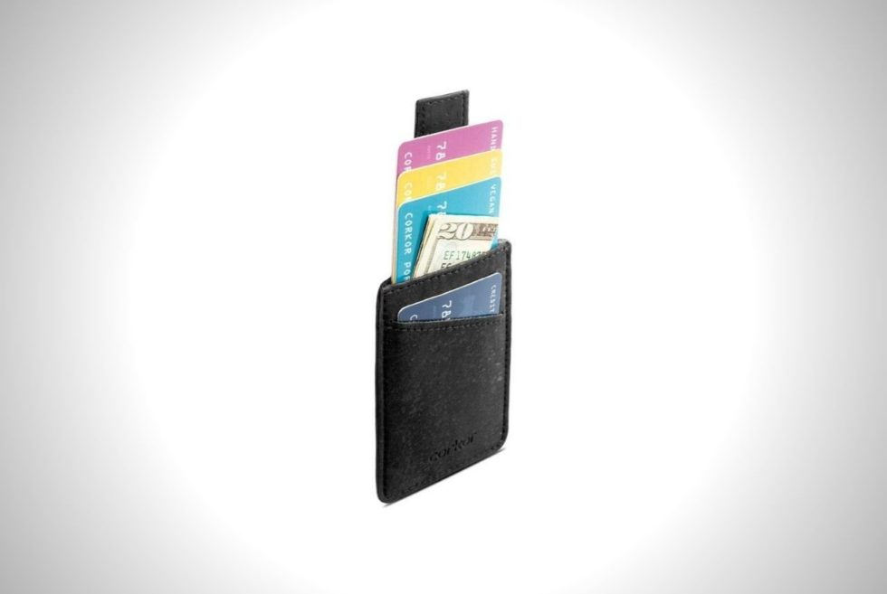 Go Vegan With Your EDC With The Slim Corkor Front Pocket Wallet