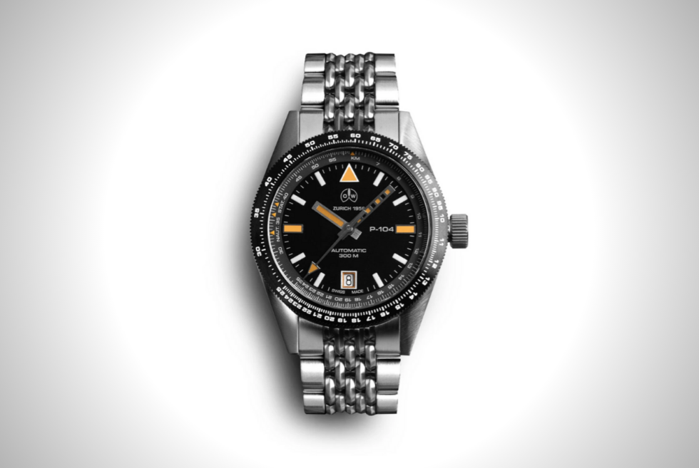 Channel your love for aviation with the Ollech & Wajs P-104 S on your wrist