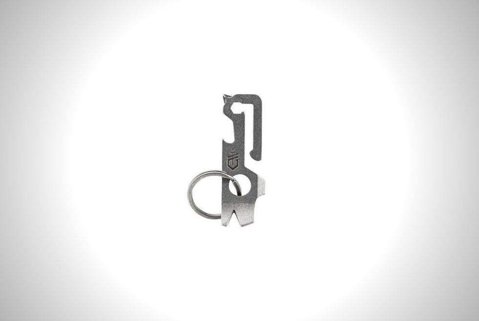 The Gerber Mullet Keychain Tool Boasts Nine Tools and A Solid-State Design