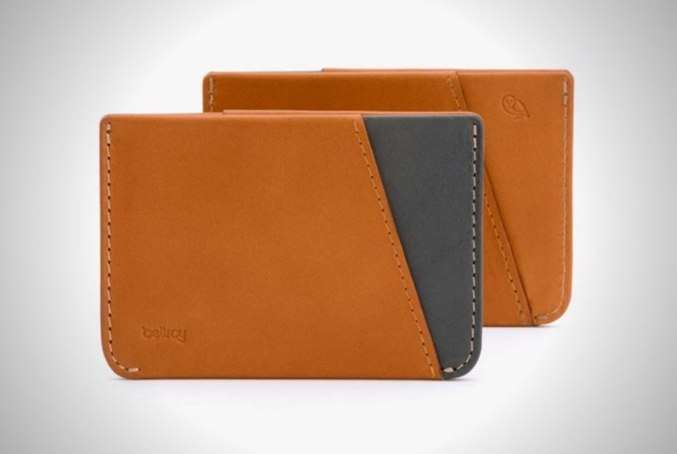 Bellroy Micro Sleeve Wallet is a fashionable and slim option for stylish folk