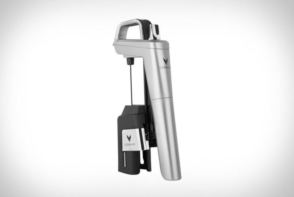 The Coravin SmartClamps Systems Preserves Opened Wine