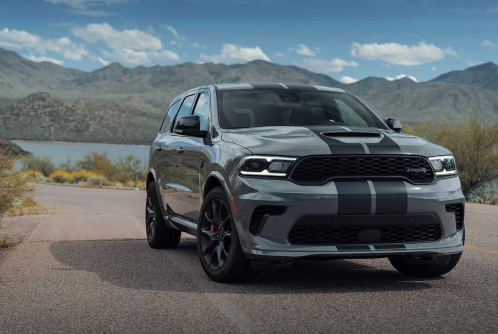 Dodge introduces an overpowered SUV called the Durango SRT Hellcat