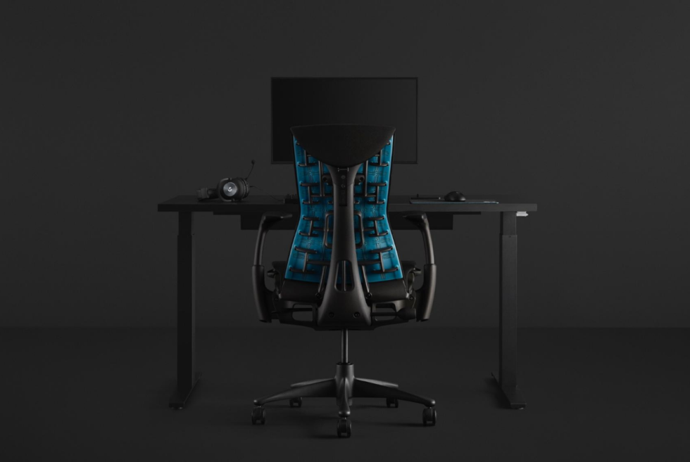 The Herman Miller x Logitech G collection gives you a reason to play longer