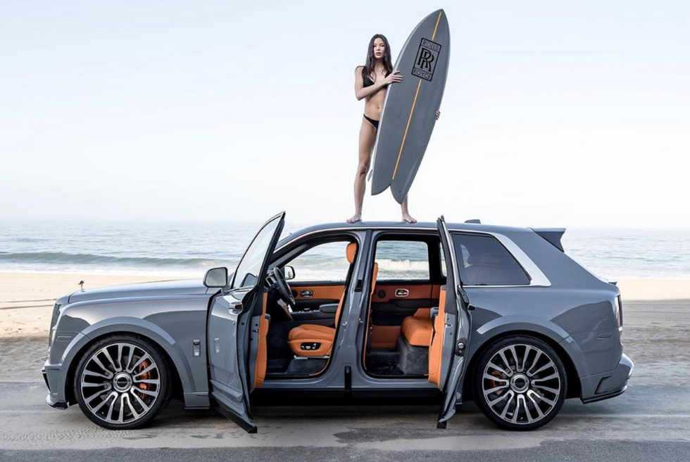 Platinum Group presents the bespoke Rolls-Royce Cullinan Surf Edition